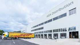 reference, ikea, distribution center, ikea cdc, flat roof, strebersdorf, austria