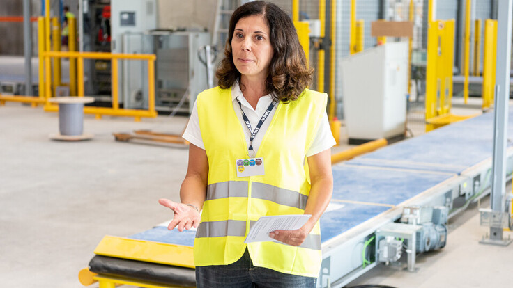 reference, ikea, distribution center, ikea cdc, project manager doris rottensteiner, strebersdorf, austria