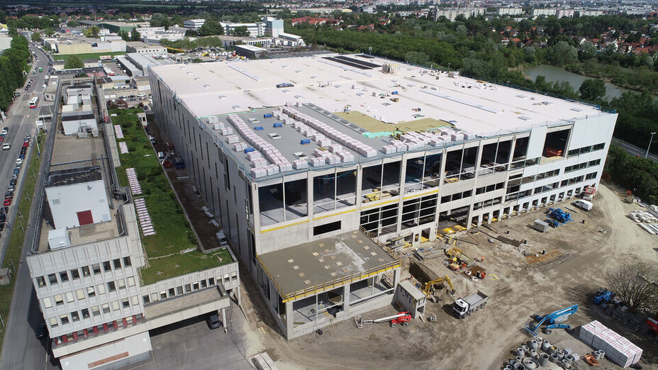reference, ikea, distribution center, ikea cdc, flat roof, insulation, durock austria 038, strebersdorf, austria