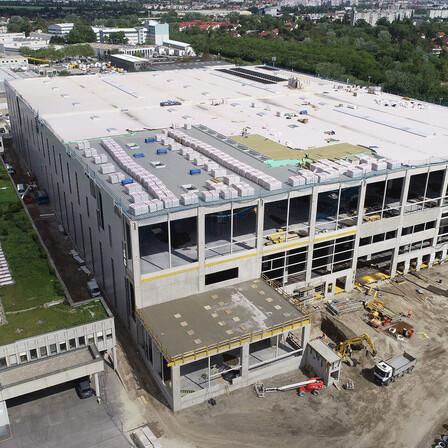 reference, ikea, distribution center, ikea cdc, flat roof, insulation, durock austria 038, strebersdorf, austria