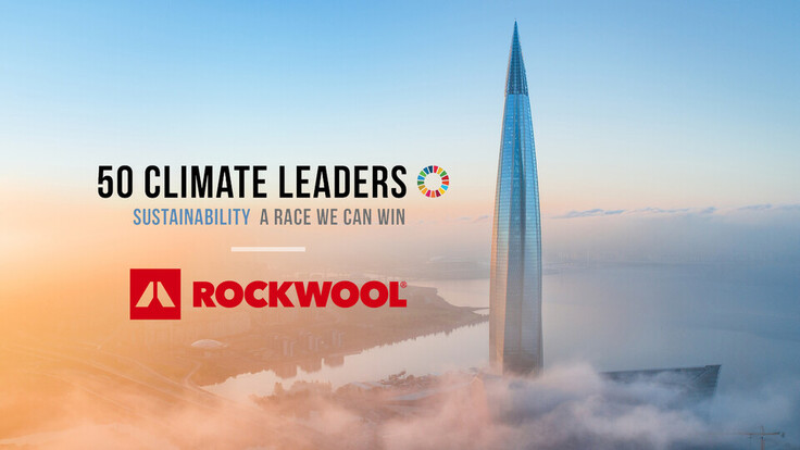 50 Climate Leaders, Bloomberg, Sustainability, Lakhta Centre, Saint Petersberg, Russia