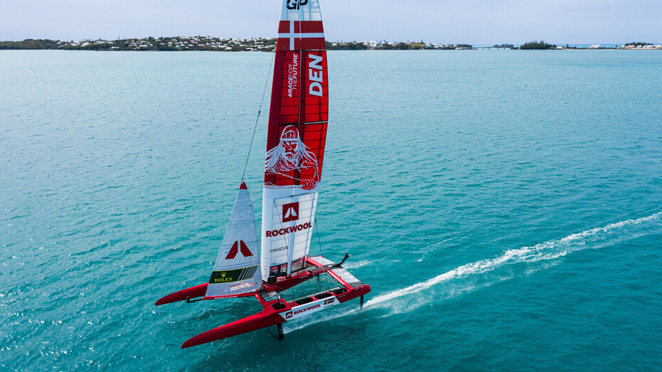 SailGP, ROCKWOOL, Denmark SailGP Team, Bermuda, The Great Sound, Boat, F50