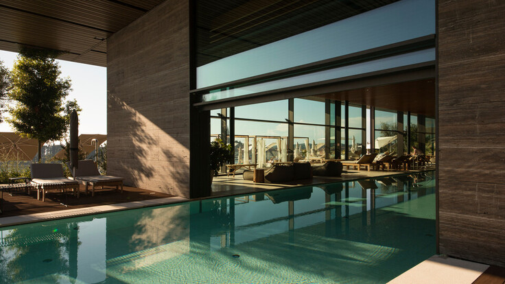 reference project Grand Park Hotel Rovinj, Croatia, roof, facade, ETICS, pool, spa