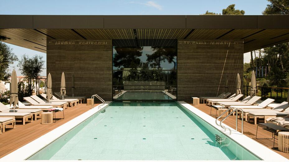 reference project Grand Park Hotel Rovinj, Croatia, roof, facade, ETICS, pool
