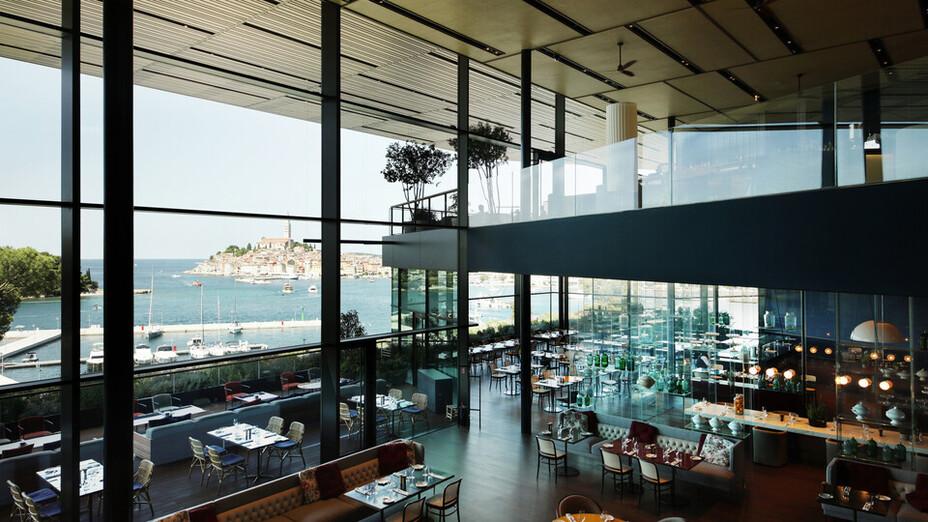 reference project Grand Park Hotel Rovinj, Croatia, roof, facade, ETICS, interior, view, restaurant