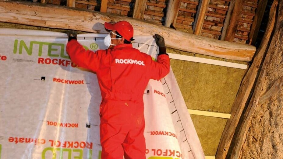 Image from french ROCKWOOL Campus catalogue dedicated to training sessions
