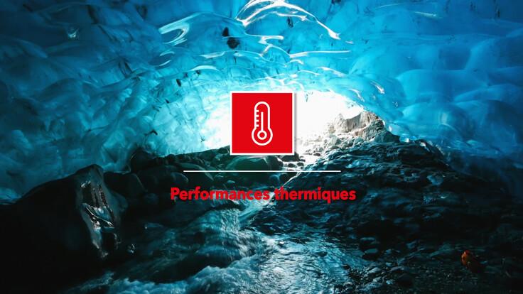 Les 7 forces de la roche - Performances thermiques