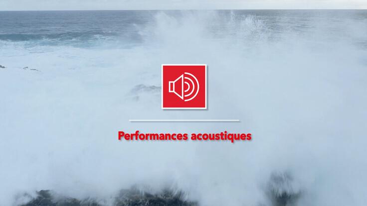 Les 7 forces de la roche - Performances acoustiques