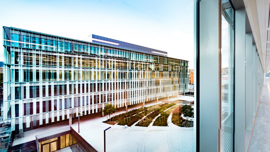 Campus Administratiu Universitari-partition walls, Alpharock