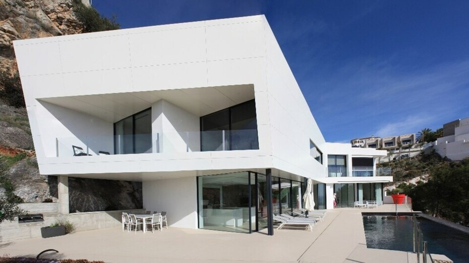 Lambert project, Salobreña, Granada, Single family house