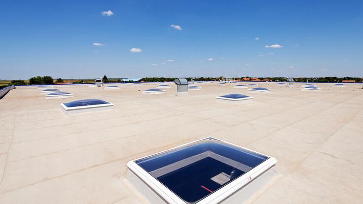 flat roof, FRI, Metal Box, synthetic flat roof insulation