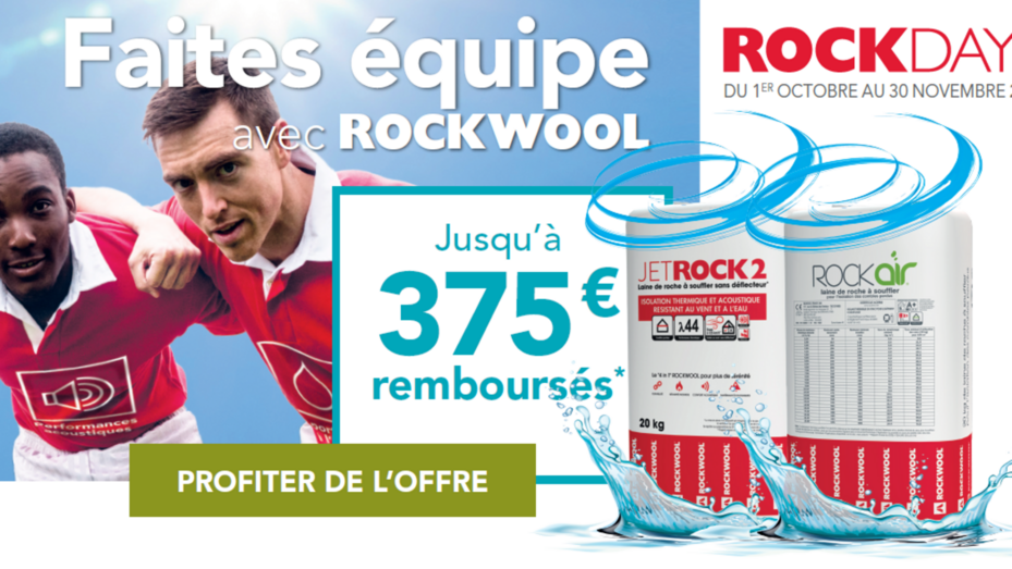 ROCKWOOL France Opération ROCKDAYS