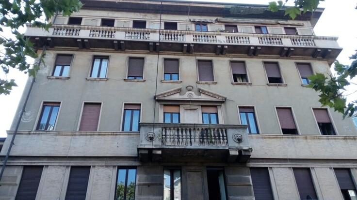 Case study about a MUH in Milan, RENO - REDArt (Viale Murillo, Milan) Italy - photo before RENO