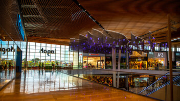Lagoh Shopping Center, Centro Comercial, Conlit Ductboard, Cinema, HVAC, Fire Protection, Rockpanel, Rockfon,  Rockbardage, Hardrock, REDAir, REDArt, Ventirock Duo, Mono Acoustic, Color All, Alpharock 225, Curro Moreno-Aurioles
