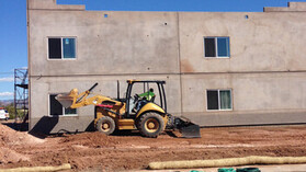 Precast case study 2, conrock, exterior, building, wall, construction