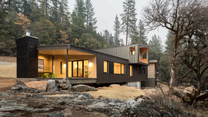 2018 Fine Homebuilding House of the year.A NetZero Passivehouse in Northern California from Atmosphere Design Build.
