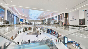 Posnania Shopping Mall,Poland,Poznan,6.000 m²,SUF-SYSTEM,Bartosz Makowski,ROCKFON Mono Acoustic,Mono Direct TE,  1200x900x40,1800x1200x40,white,Mono Ready Mix
