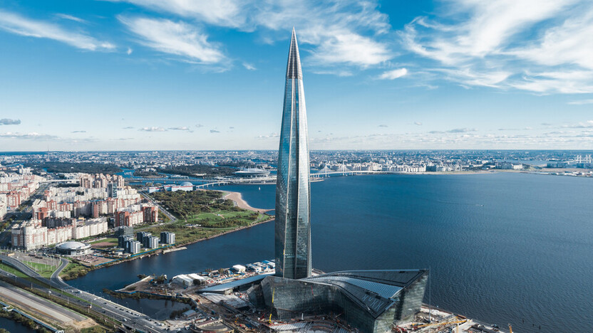 Russia, object, business center, business, Lakhta Center, Saint Petersburg, office