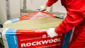 ROCKWOOL, insulation, slabs, acoustic, Russia