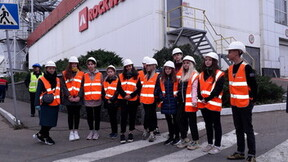 Factory tour, Balashikha, Russia, school, kids