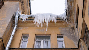 icicle, winter, Russia