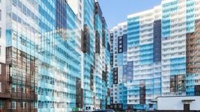"Balcony, Residential complex ""Clear Sky"", Saint Petersburg"