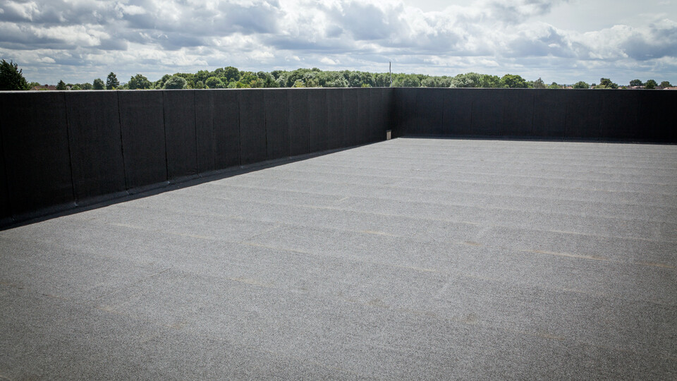 Flat Roof Refurbishment Application - Stopsley High School