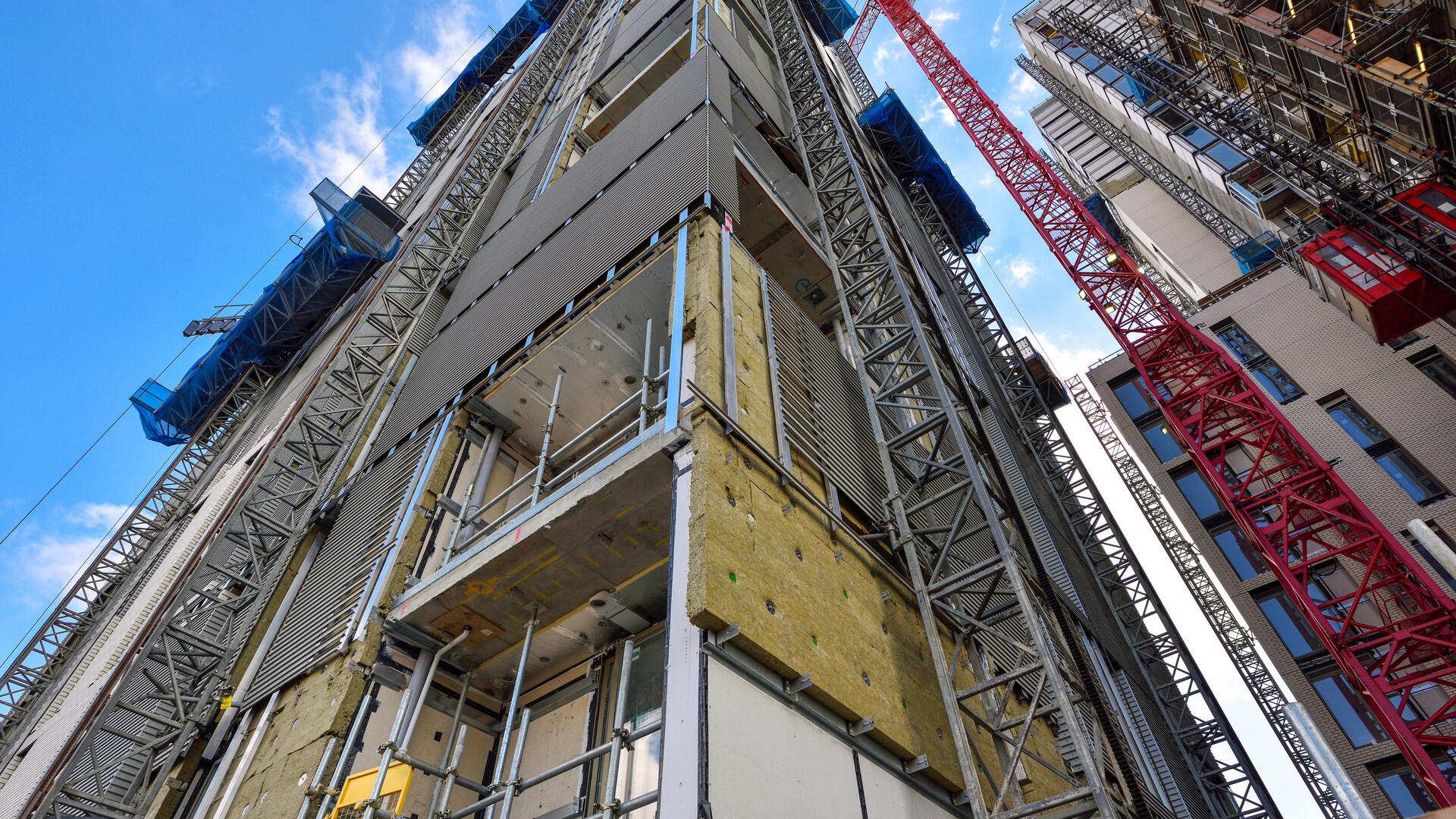 Cambridge Street Project - RAINSCREEN DUO SLAB