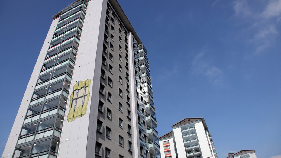 The Crofts - Completed project images - RAINSCREEN DUO SLAB and ROCKPANEL installed