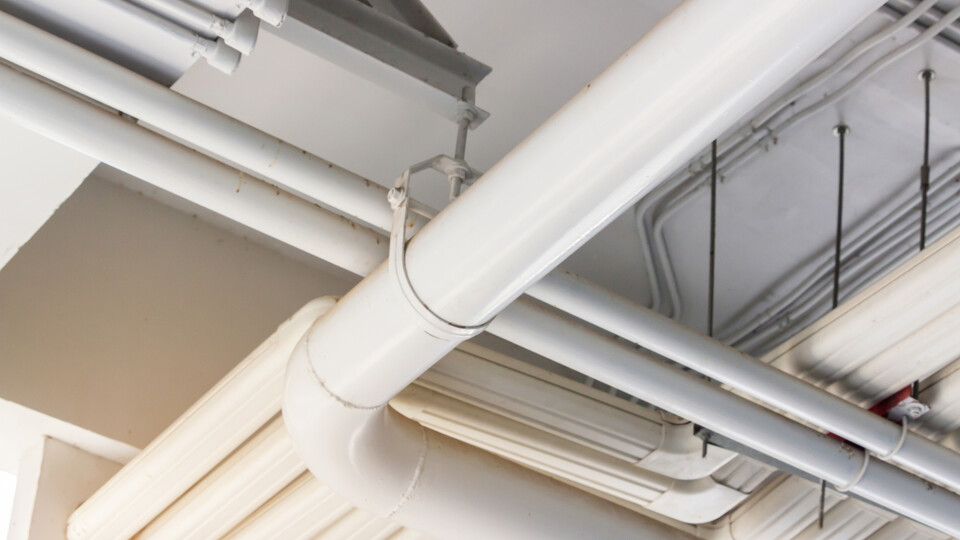 Stock Photography - Plastic Pipes - Drainage