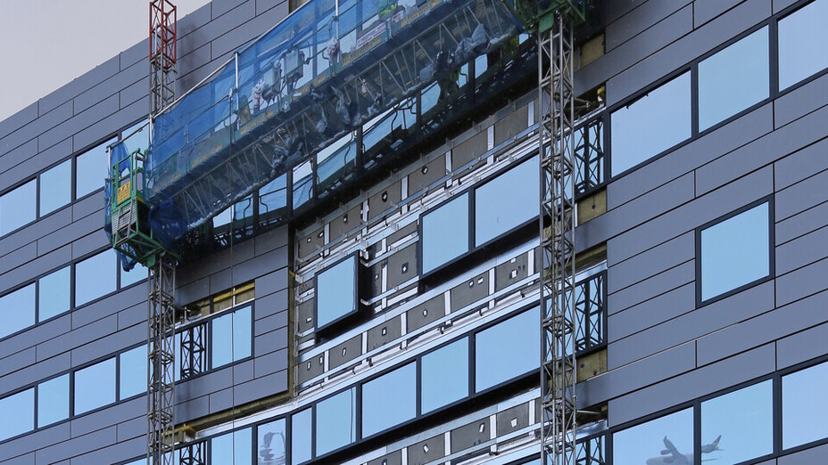 Crowne Plaza Hotel - Heathrow Airport Terminal 4 - RAINSCREEN DUO SLAB