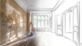 Renovation Sketch to Photo