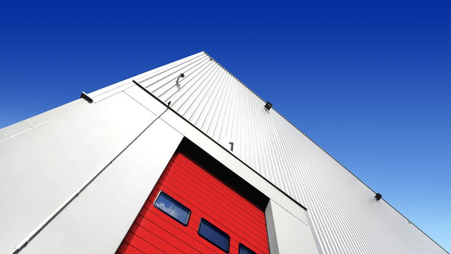 Warehouse / Distribution Centre Building (With Red Door)