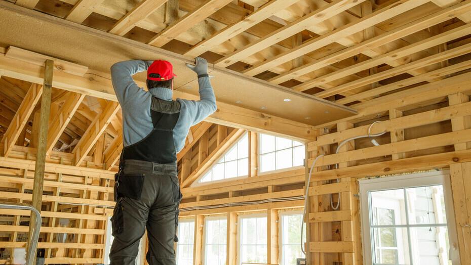 Self-builder image for renovation campaign