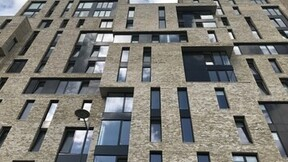 Construction, external, student accommodation, residential, Rainscreen, SP Firestop, The Quad