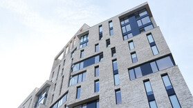 The Quad,  Building, Residential, Student Accommodation, Rainscreen, SP Firestop,