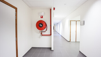 Hallway, Fire Protection, Fire Hose Reel