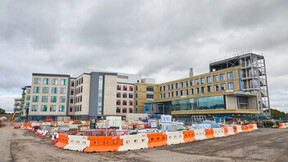 Request permission from RW-UK to use.  SCCC Cwmbran – this is a Healthcare Project specifically a Specialist and Critical Care Centre in South Wales.  Lot of products on this one, primarily façade switched to RW for non combustibility – some RCS and RockFon products and a lot of RW Fire Protection products.