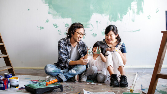 People, Humans, Painting, Indoor, Family, Home