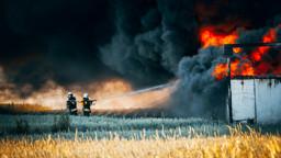 Fields, Fire, Firemen, Crops