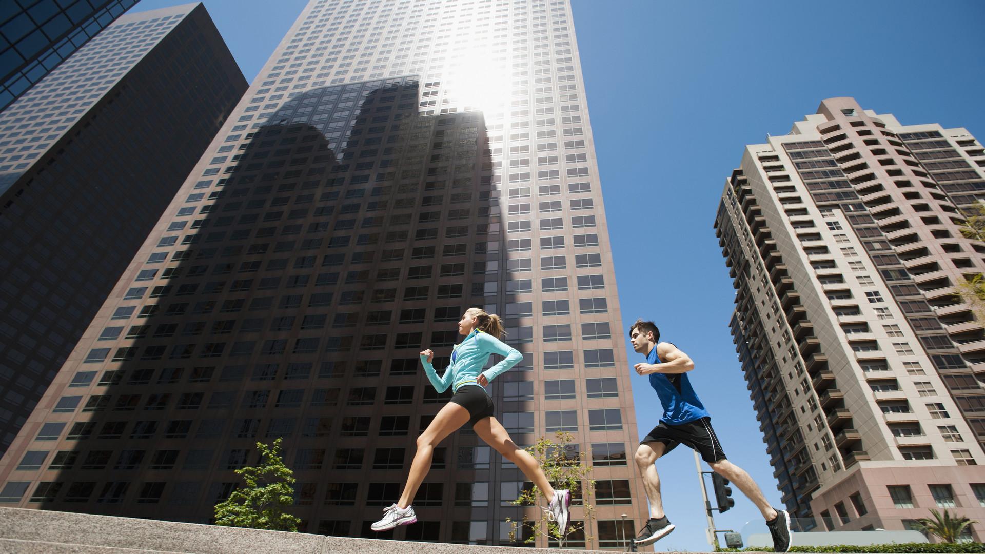 People, Humans, Running, Urban