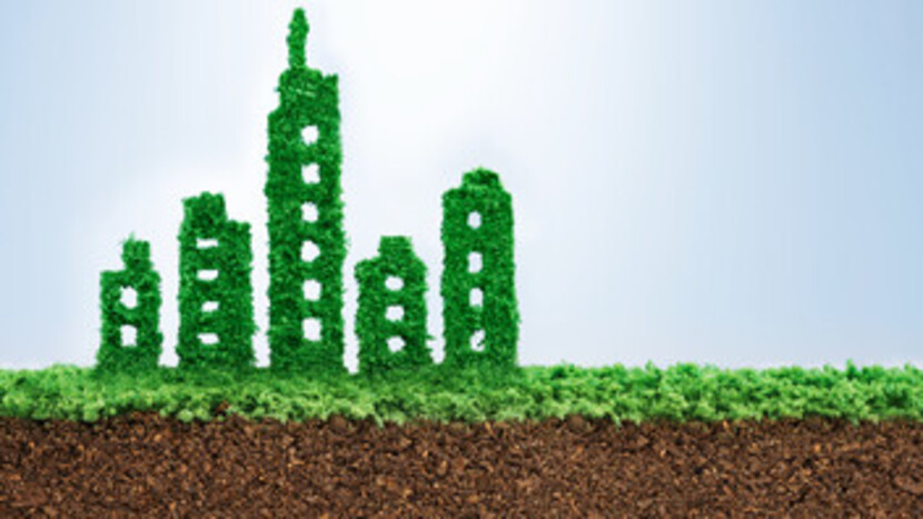 Sustainability, Building, City, Green