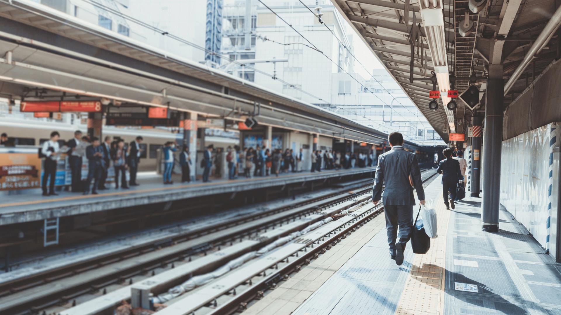 People, Humans, Train, Terminal