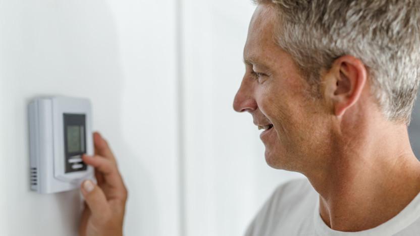 People, Humans, Man, Thermostat, Heating, Indoor, Comfort