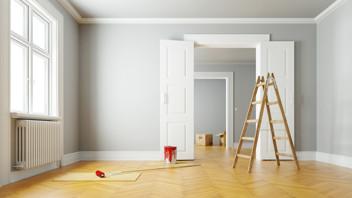 indoor home renovation