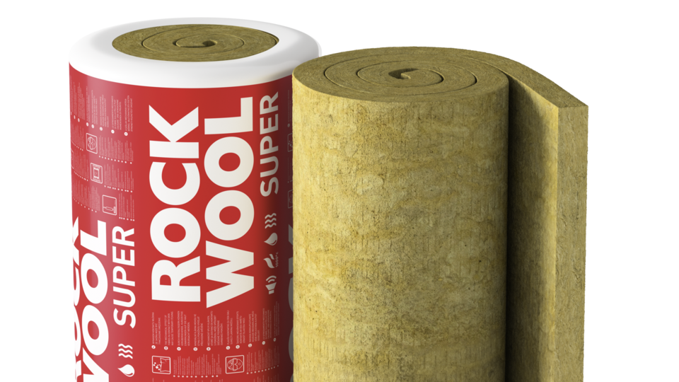 TOPROCK SUPER, roll, piched roof insulation, internal insulation,