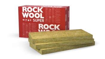 SUPERROCK, slabs, piched roof insulation, internal insulation, acoustic insulation