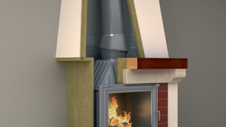 fireplace, insulation, fire protection, fp, firerock