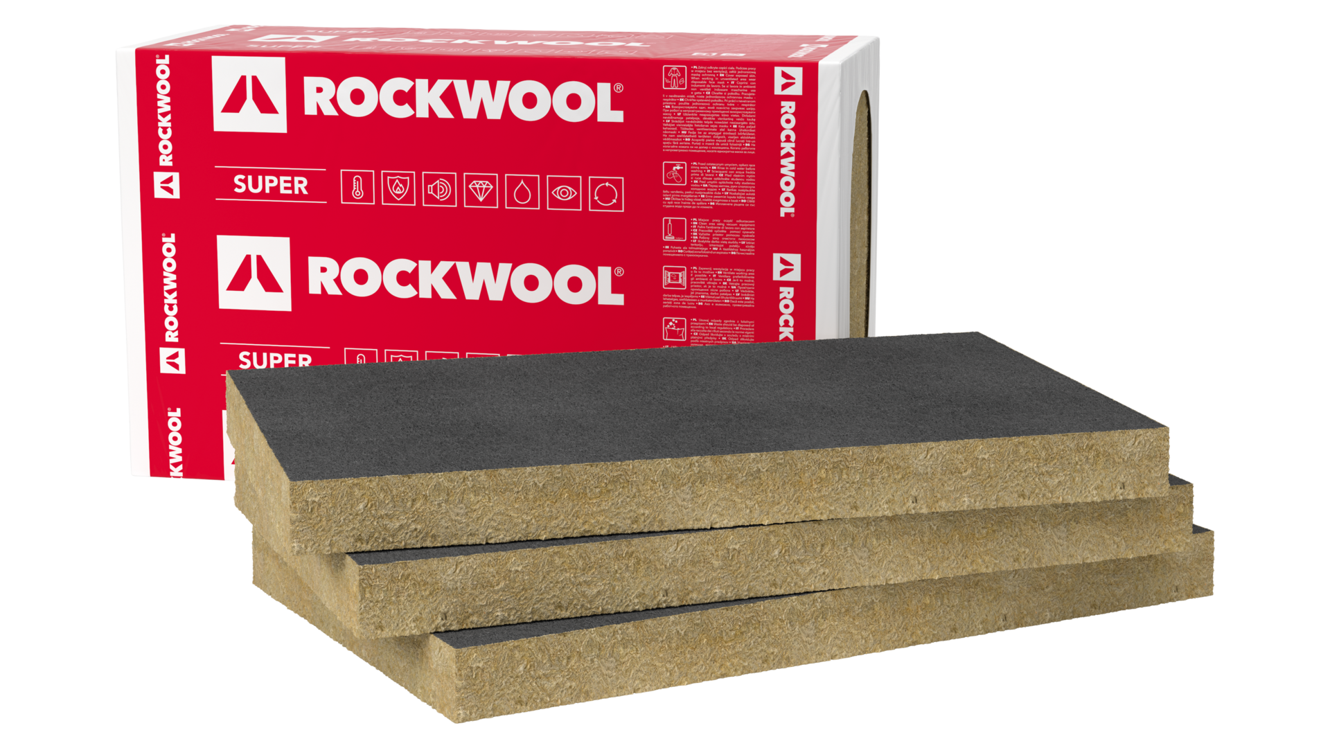 package, slabs, ewi, facade, products, external wall insulation, ventilated facade, ventirock f super