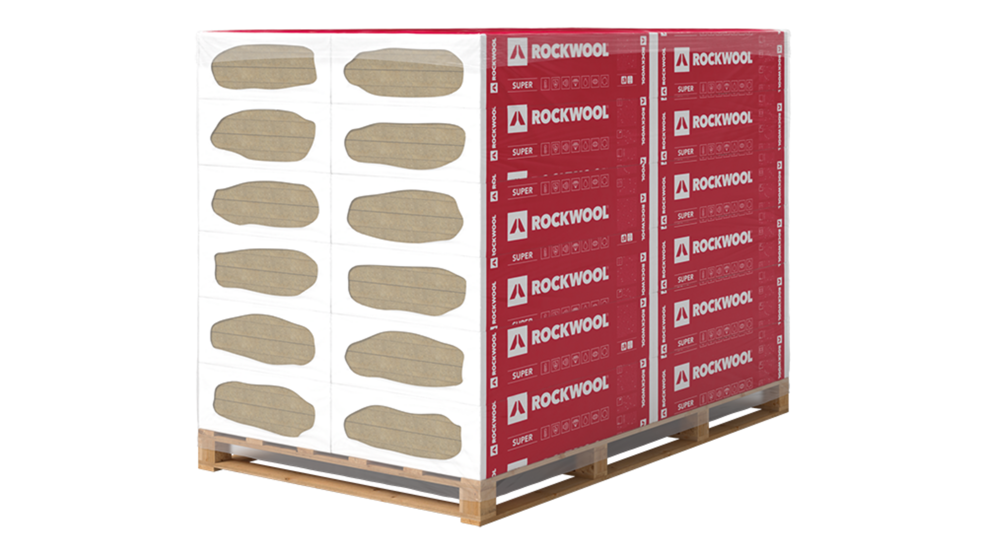 Steprock Super, Pallet, package, slabs